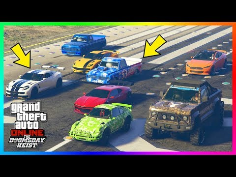 GTA Online The Doomsday Heist DLC - The NEW Fastest Vehicle In The Game - Best Super & Sports Cars!