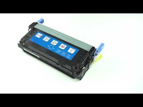 HP 643A (Q5953A) MAGENTA 10,000 PAGE YIELD REPLACEMENT LASERJET TONER CARTRIDGE