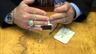 How to tell if a diamond is real or fake.