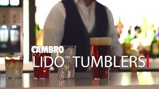 Lido Tumblers from Cambro