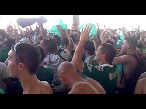 """""""Ferro vs River - Entrada"""" Barra: La Banda 100% Caballito • Club: Ferro Carril Oeste"""