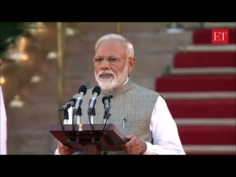 Narendra Modi takes oath as the Prime Minister of India for second term