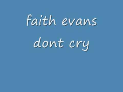 faith evans    dont cry