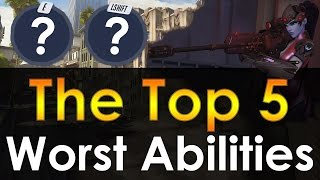 The Top 5 Worst Abilities in Overwatch