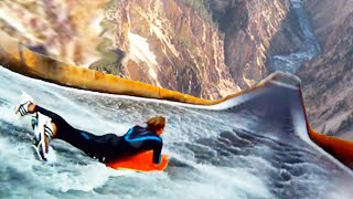Top 10 INSANE NATURAL Waterslides YOU WONT BELIEVE EXIST!