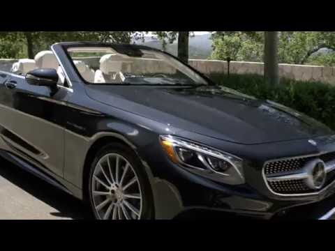 Mercedesbenz S Class Coupe Cabriolet Кабриолет класса A - рекламное видео 1