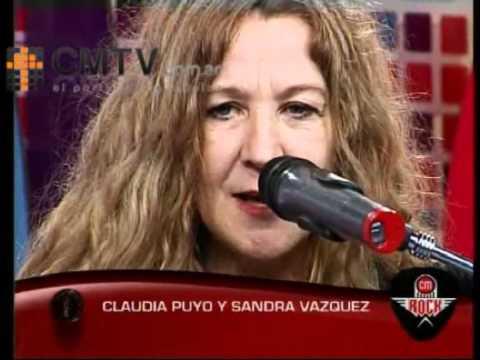 Claudia Puyó video Septiembre - Acústico CM Rock 2011