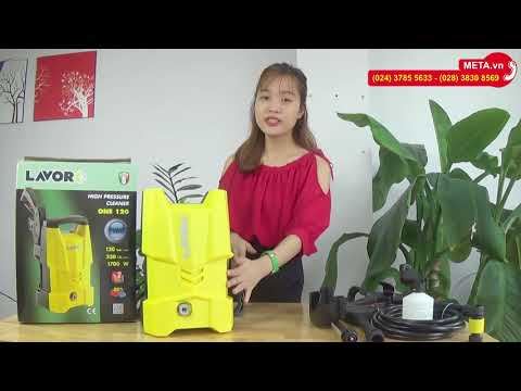 Máy rửa xe gia đình Lavor One 120 công suất 1.700W, áp lực 120 bar