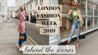 LONDON FASHION WEEK | BEHIND THE SCENES