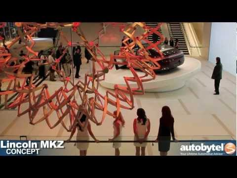 Lincoln MKZ concept at the 2012 Detroit Auto Show Video
