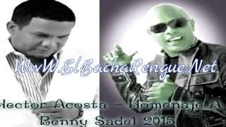 Hector Acosta -  Homenaje A Benny Sadel 2015