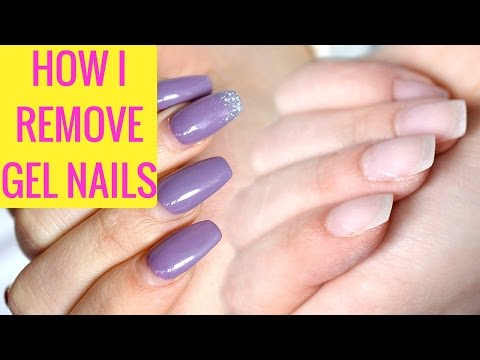 HOW I REMOVE GEL NAILS AT HOME !