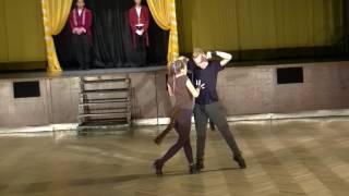 ROKASO Showdance 2017 Cirkus - Matěj Suchánek & Veronika Dufková - Drezůra koní