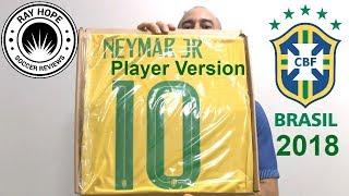 Brazil 2018 World Cup home jersey VaporKnit player version Neymar Jr