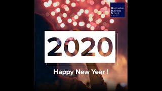 Happy New Year ! - Montpellier Business School
