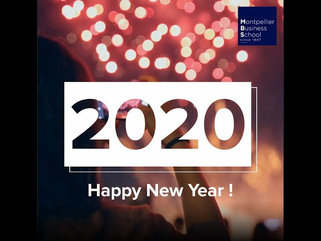 Happy New Year ! – Montpellier Business School