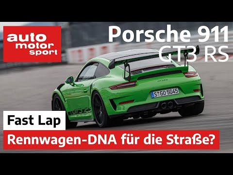 Porsche 911 GT3 RS (991 II): Näher am Rennsport geht nicht? - Fast Lap | auto motor und sport