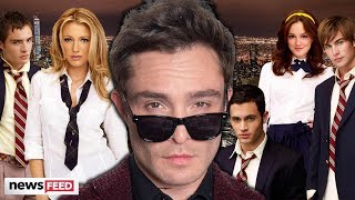 Ed Westwick TEASES Mysterious Gossip Girl Announcement!