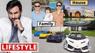 Saif Ali Khan Lifestyle 2020, Wife, Income, Daughter,Son,House,Cars,Family,Biography,Movies&NetWorth