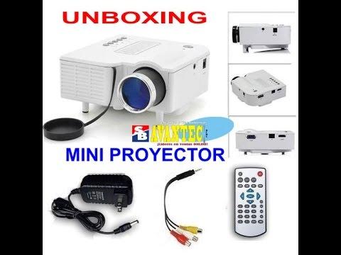 Mini proyector uC28 HDMI - Usb - SD 48 lúmenes - 20,000 horas uso 2017 [AvanTec Perú]
