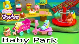 Shopkins Baby Playground Park Season 1 And 2 Playing Video Fluffy Special Edition Ultra Rare Toys