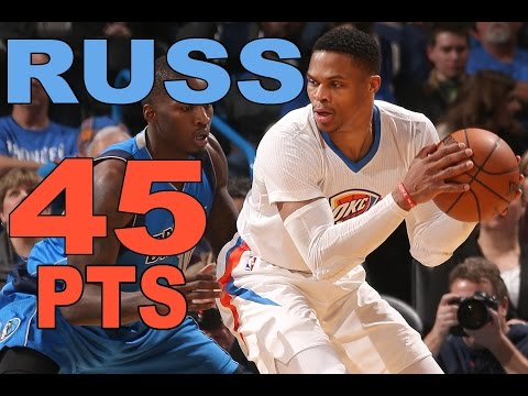 Russell Westbrook Drops 45 Points In OKC   01.26.17