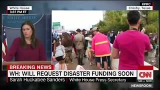 White House Press Briefing Q&A - August 31, 2017 (Hurricane Harvey, DACA)
