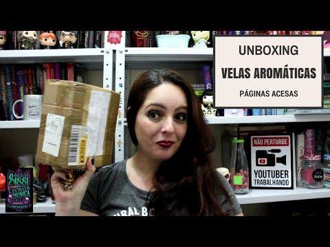 Unboxing Páginas Acesas - Velas Aromáticas | Dicas da Sissi