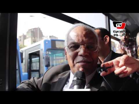 محافظ القاهرة: حل أزمة المرور في تطوير النقل العام