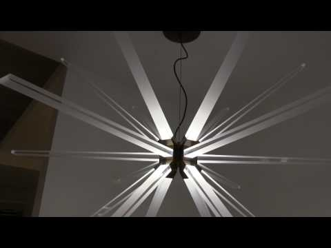 Video for Photon Satin Nickel 48-Inch LED Chandelier