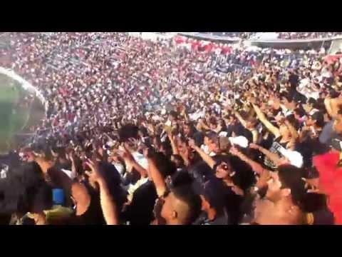 """""""Cuz Azul vs Pumas 26/04/2014 La Rebel Como no te voy a querer"""" Barra: La Rebel • Club: Pumas"""