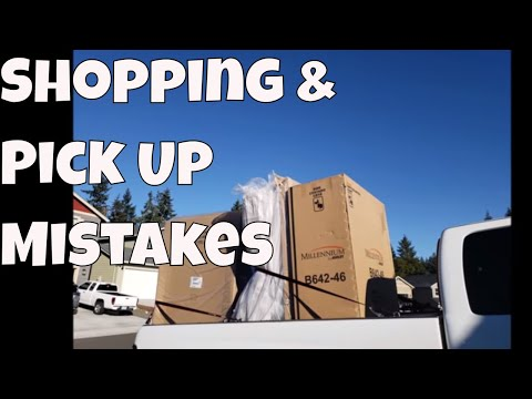 Furniture Pick Up & Shopping Day With Linda's Pantry