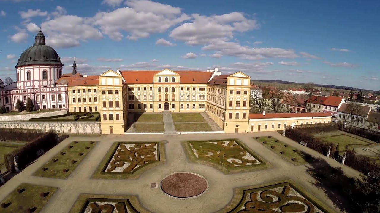 Barokní zámek Jaroměřice nad Rokytnou