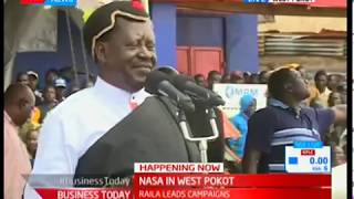 Raila Odinga asks women to abstain until after election
