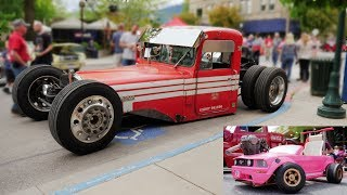 Rat Rods of Idaho + Barbie Kart in a Real Car Show