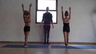Beg  Acro Dance Lesson 1
