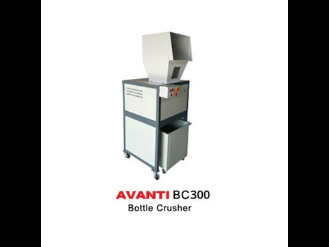 Avanti BC-300 Glass Bottle/Ampule and Vial Crusher Machine