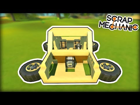 We Searched For Broken Things And Fixed Them! (Scrap Mechanic Gameplay)
