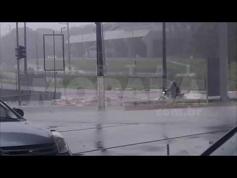 Chuva em Araraquara - 27-02-2018