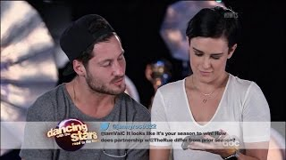 DWTS  Road To Finals Rumer Willis and Val Answer Fan Questions Dancing With The Stars Season 20
