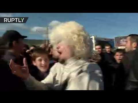 RAW: Fans go wild after Khabib victory over McGregor at UFC 229