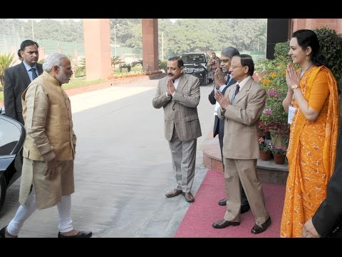 PM Shri Narendra Modi at an Interactive Session with 2013 batch of IAS officers