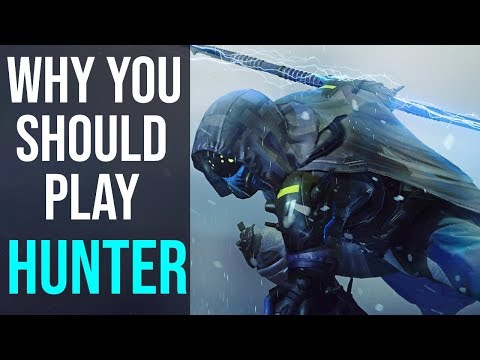 Why You Should Play Hunter In Destiny 2 Shadowkeep