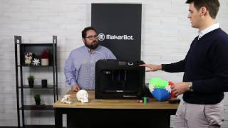 Hands on with the MakerBot Replicator Plus!