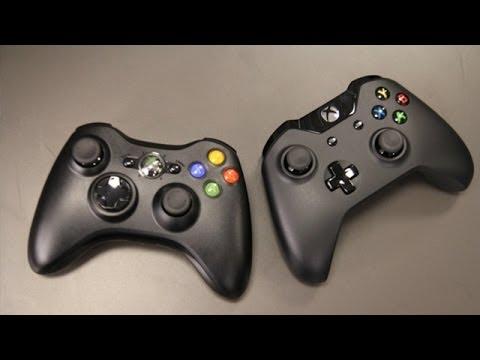 Xbox One vs. Xbox 360 Controller Comparison