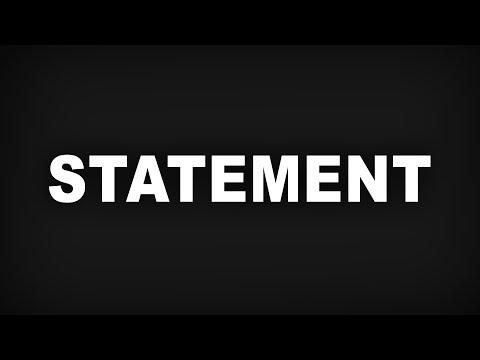 Ein Statement von 70+ Youtubern