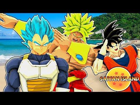 Saiyan Island Episode 1