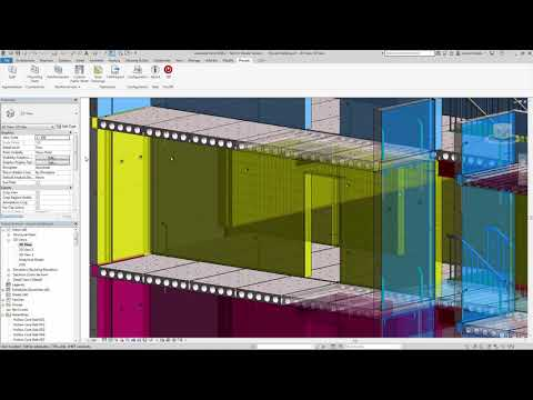 Revit 2019 Area and Edge Reinforcement Demonstration