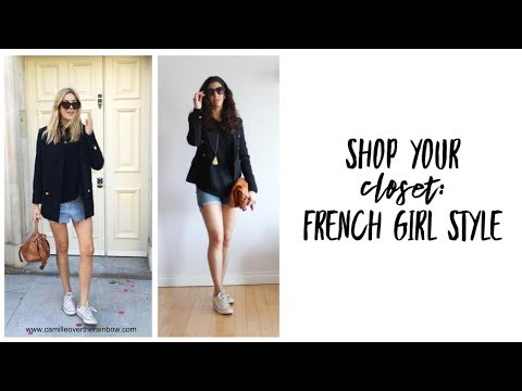 Shop Your Closet: French Girl Style   Curated Capsule Closet   Fashion Envy