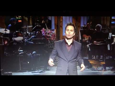 Sam Rockwell - SNL Monologue